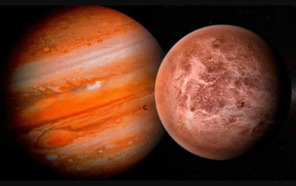 Jupiter e Venus